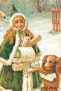 Minikort Flicka hund paket J.N