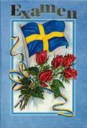 Flagga röda rosor