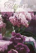 Lila Blommor, Till en Vän