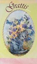 Katt + Fjäril Grattis