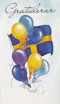 Flagga ballonger, Gratulerar