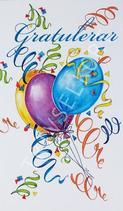 Ballonger & Serpentiner Gratulerar