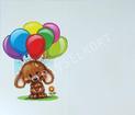 Nalle ballonger, Grattis