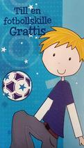 Fotbollskille Grattis