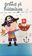Pirat kille Grattis