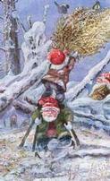 Tomte julkärve