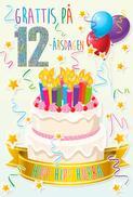 Tårta med Ljus 12år